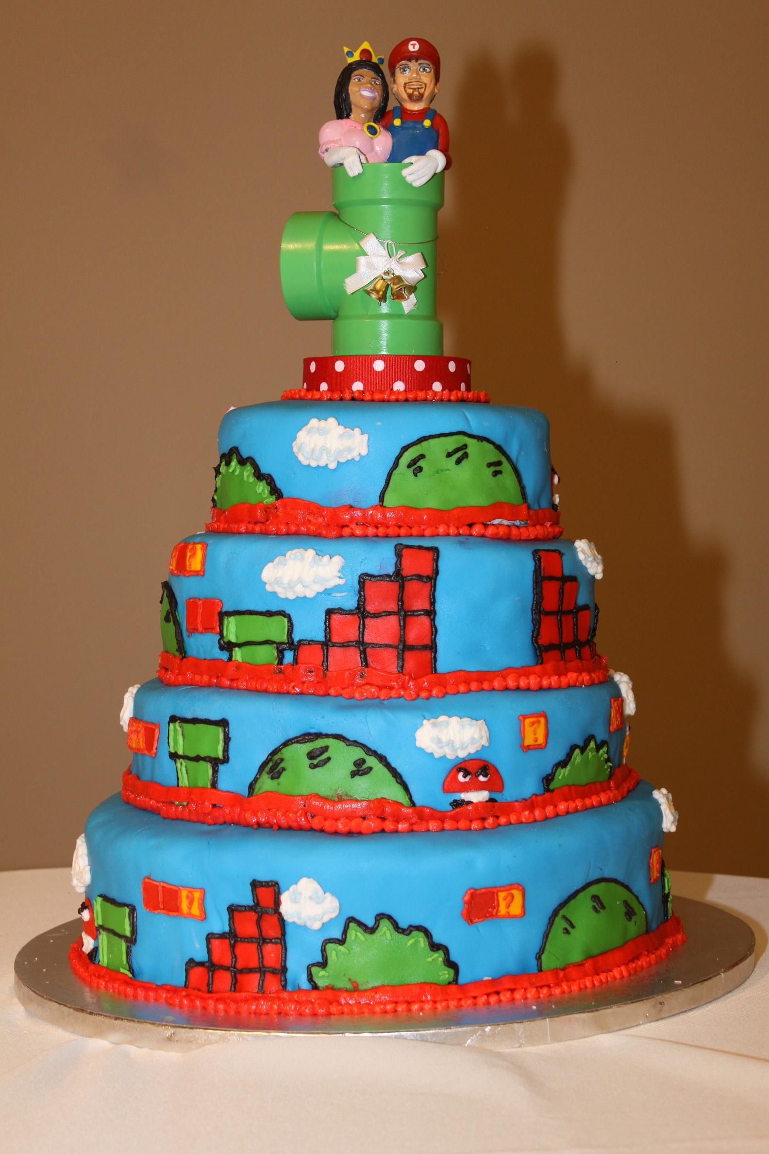 super mario bros wedding cake mario bros cake courting disaster 20626